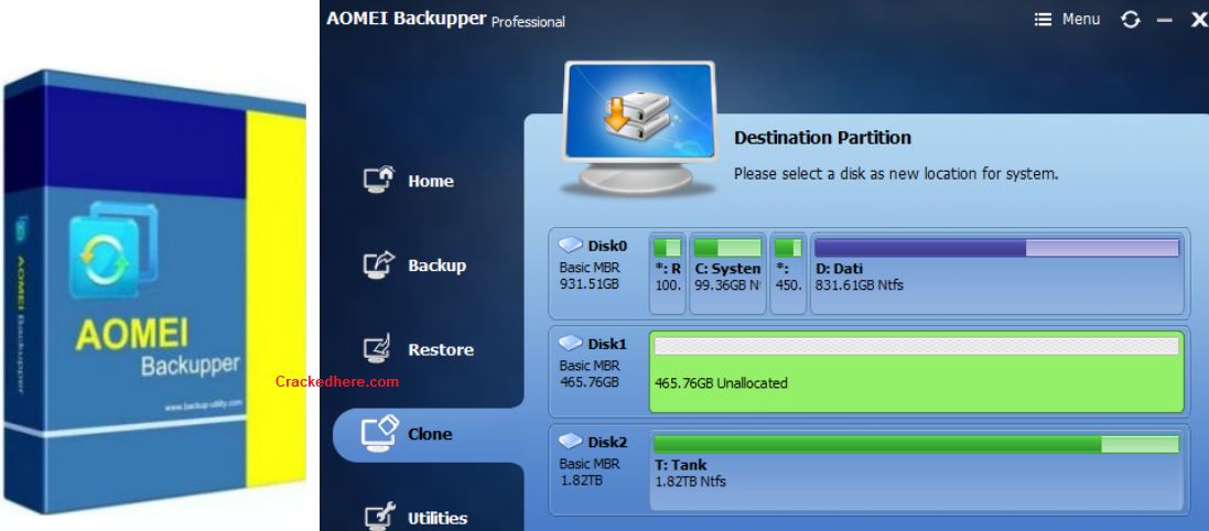 AOMEI Backupper Crack Full License Keys