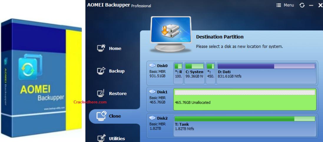 AOMEI Backupper Crack Full License Keys